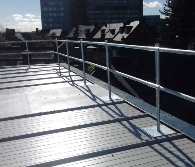 Fall Protection Solutions | Sheffield Children's Hospital