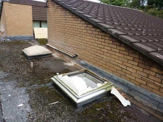 What happens when your fragile roof goes wrong?
