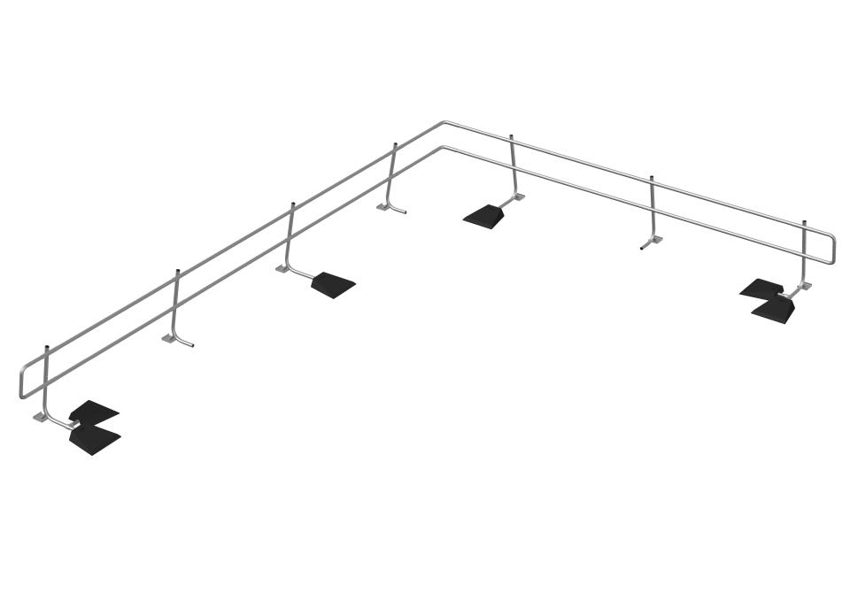 Freestanding Guardrail System 2