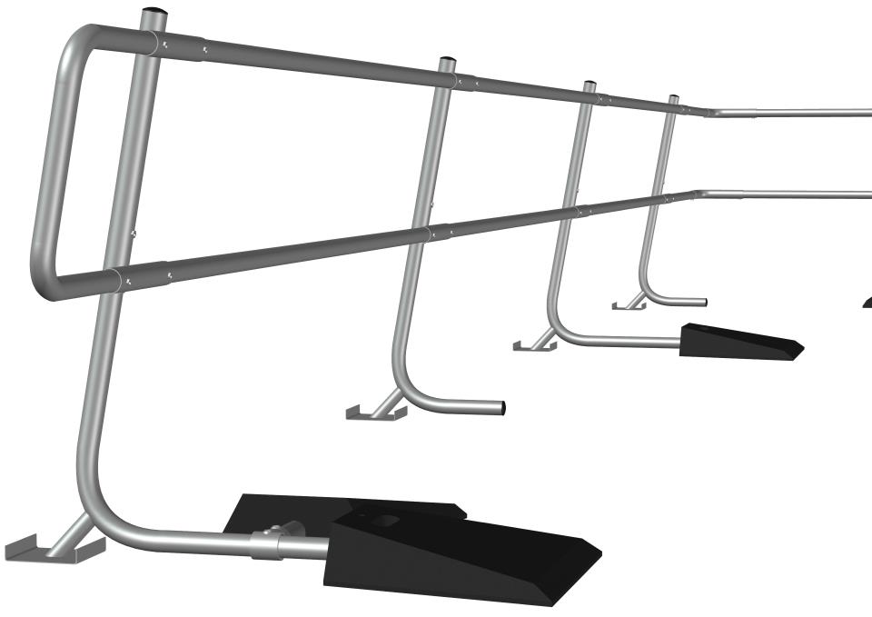 Freestanding Guardrail System 4