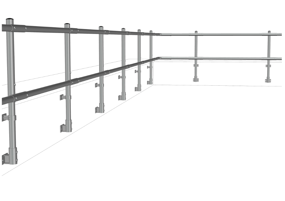 Side Fixed Guardrail System Supporting Image